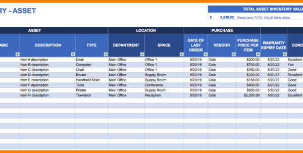 Asset Tracking Spreadsheet Template Inside Consignment Inventory Tracking Spreadsheet With Management Plus