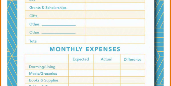 Assisted Living Budget Spreadsheet With Regard To 1011 Teenage Budgeting Worksheets  2L2Code