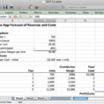 Assumptions For Your Profit And Loss Spreadsheet With Regard To Spreadsheets To Estimate Costs