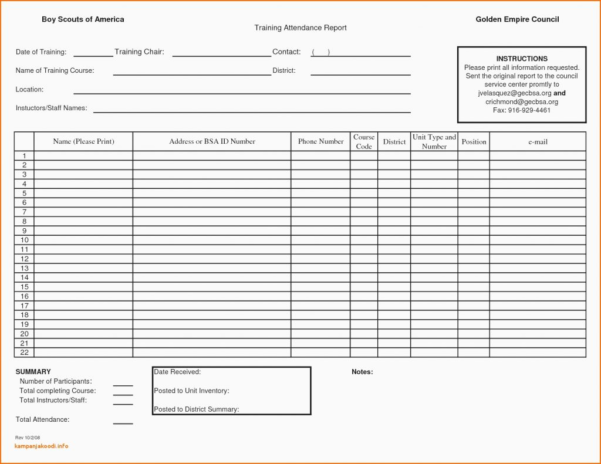 Attendance Tracking Spreadsheet In Free Employee Attendance Tracking Template With Tracker Excel 2019