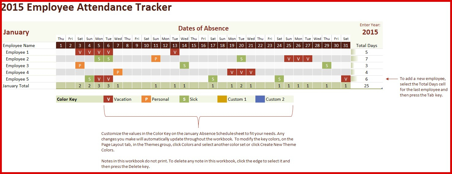 Attendance Tracking Spreadsheet Throughout Beautiful Absence Tracking Spreadsheet Excel  Wing Scuisine