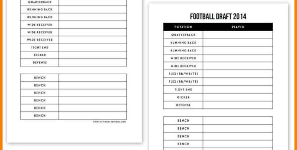 Auction Spreadsheet Template For Sheet Fantasy Football Draft Football2Readsheet Template Daily