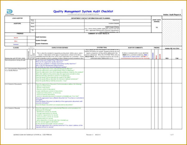 Audit Spreadsheet Regarding Compliance Audit Report Sample Legal Format Statutory Example Social
