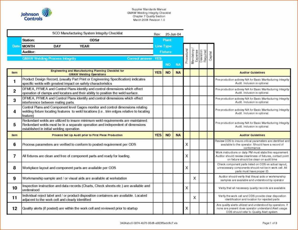 Audit Spreadsheet Templates With Regard To Example Safety Audit Report And Program Audit Template Virtren