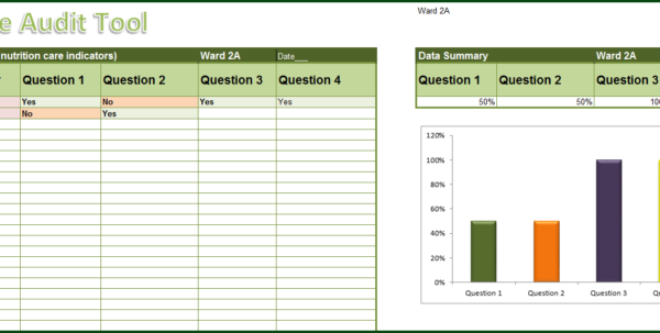 Audit Spreadsheet Throughout Simple Audit Tool – Excel 2013  Online Pc Learning
