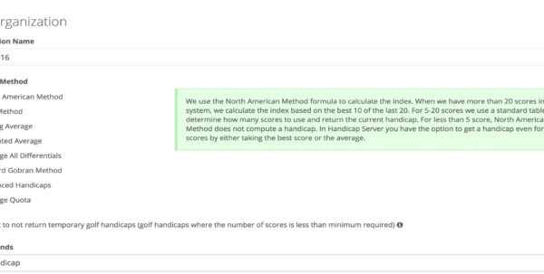 Australian Golf Handicap Calculator Spreadsheet With Handicap Server