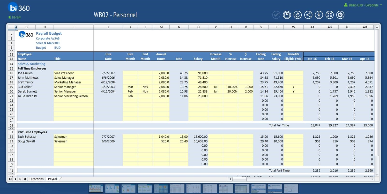 Automated Budget Spreadsheet Intended For The Benefits Of Automated Payroll Budgeting Budgeting Series