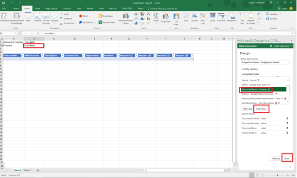 Automated Budget Spreadsheet With Budget Planning Templates For Excel  Finance  Operations
