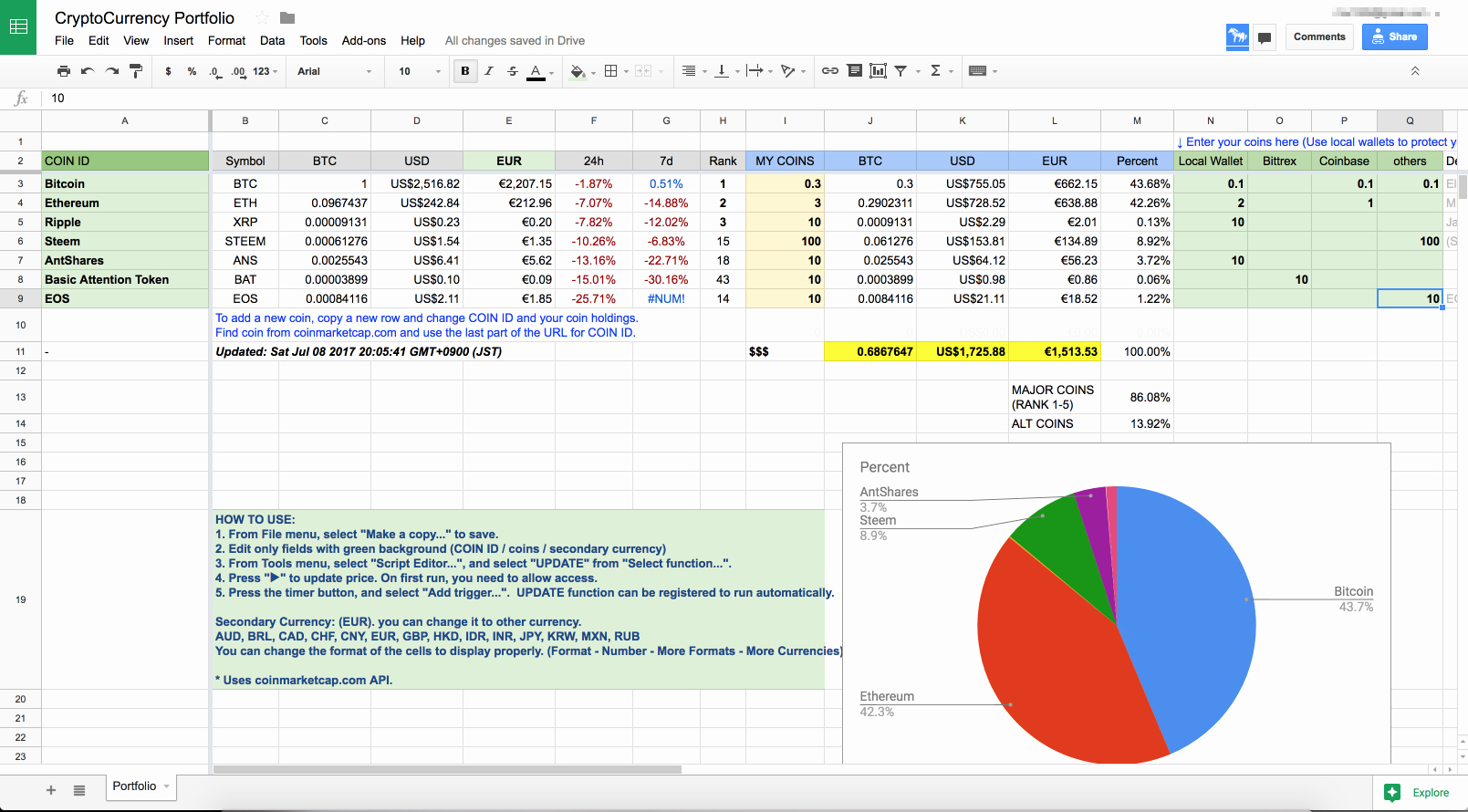 Automatic Investment Management Spreadsheet In Automaticnvestment Management Spreadsheet On Excel Free Online Sheet