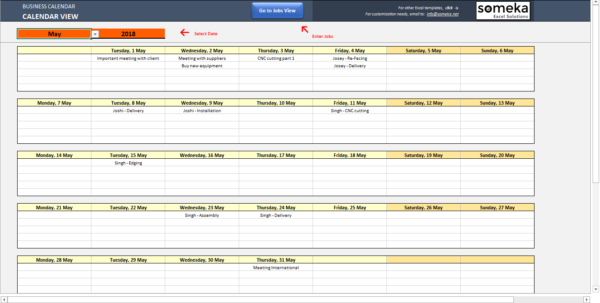 Automatic Spreadsheet Pertaining To Automatic Calendar Maker From Excel List  Spreadsheet Template