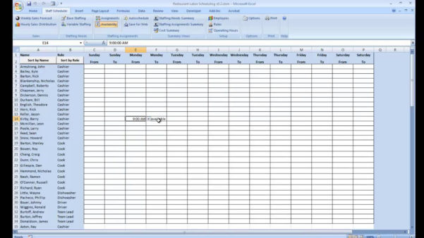 Availability Calculator Spreadsheet Pertaining To Availability Calculator Spreadsheet  Spreadsheet Collections