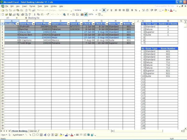 Availability Calculator Spreadsheet With Regard To Availability Calculator Spreadsheet Excel Template For Project