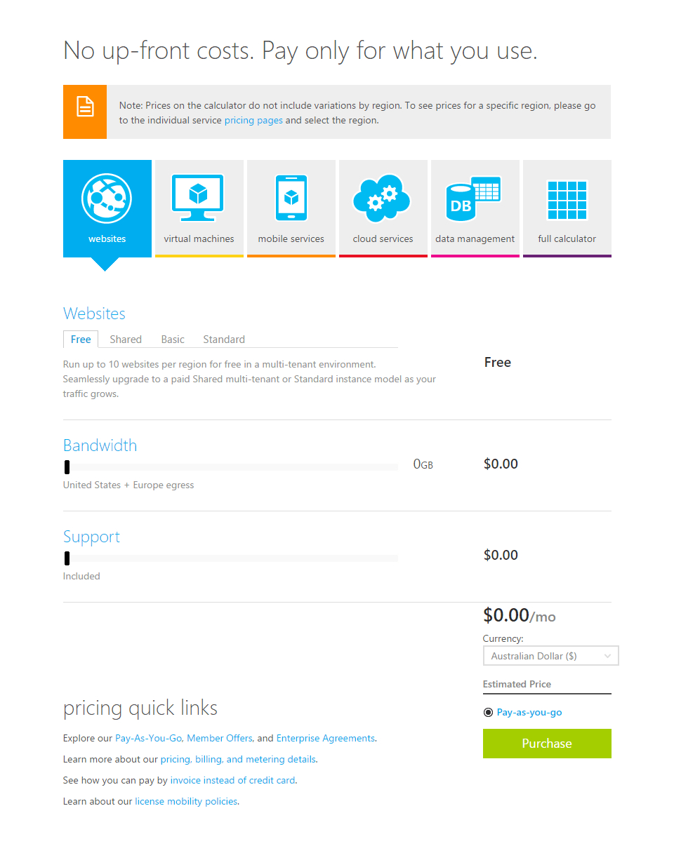 Aws Cost Calculator Spreadsheet Pertaining To Spreadsheet Example Of Aws Calculator Apc Microsoft Azure Pricing