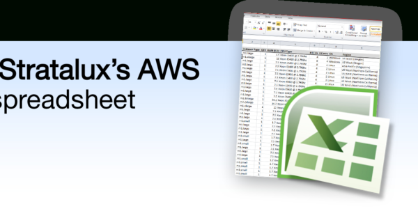 Aws Cost Spreadsheet Regarding Stratalux Releases Free Aws Pricing Tool  Stratalux, Inc.