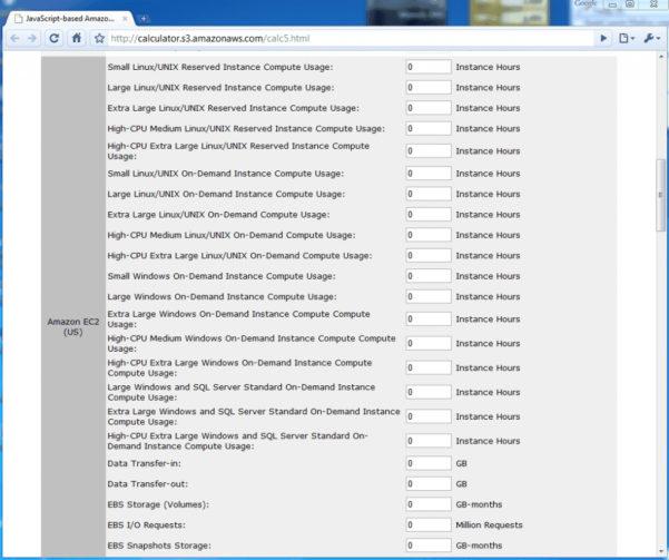 Aws Pricing Spreadsheet For Aws Ec2 Pricing Spreadsheet  Csserwis