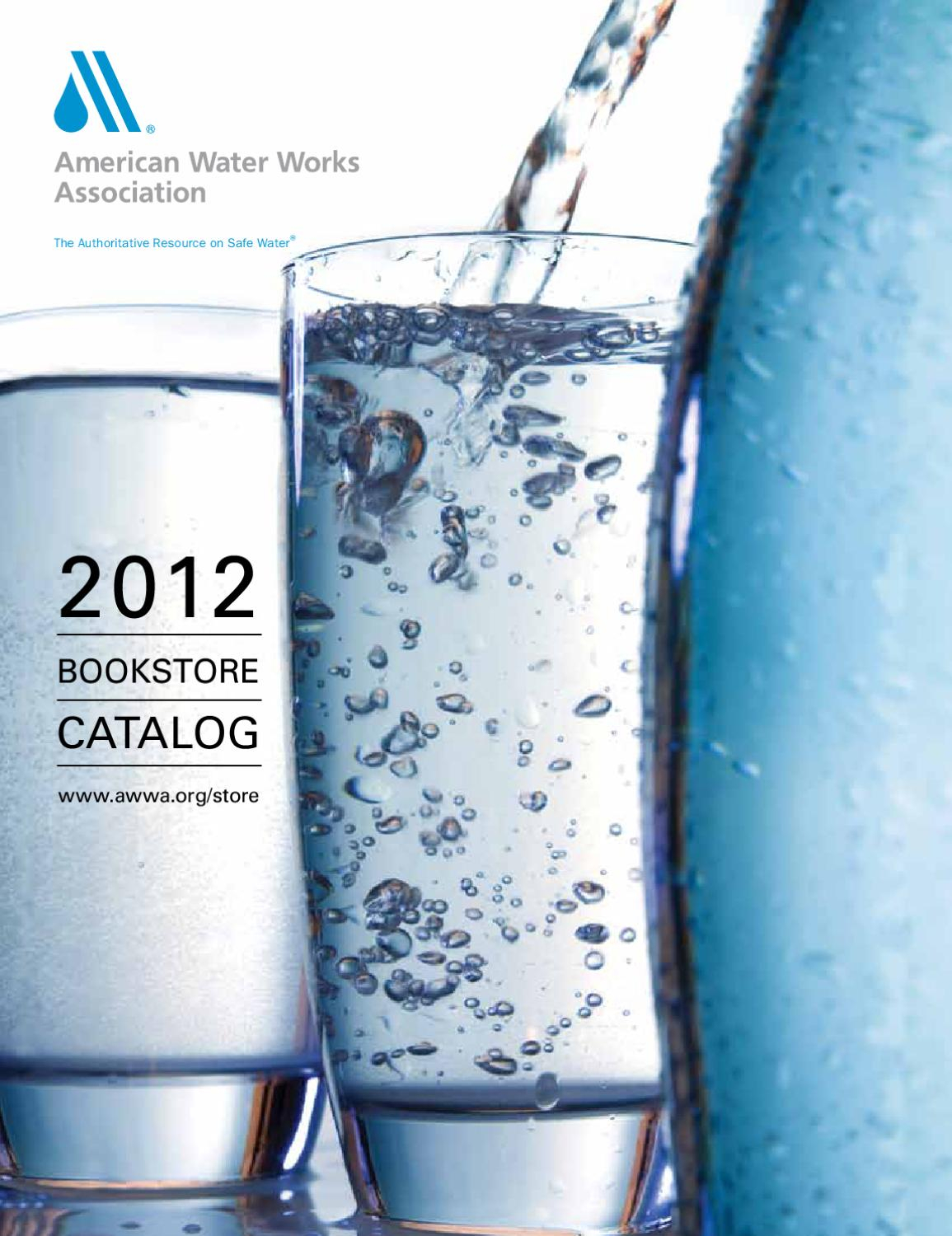 Awwa M22 Spreadsheet In Awwa Catalog 2012  American Water Works Assocpharmabooks  Issuu