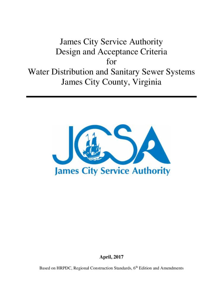 Awwa M22 Spreadsheet In Calaméo  Jcsa Design And Acceptance Criteria April 2017