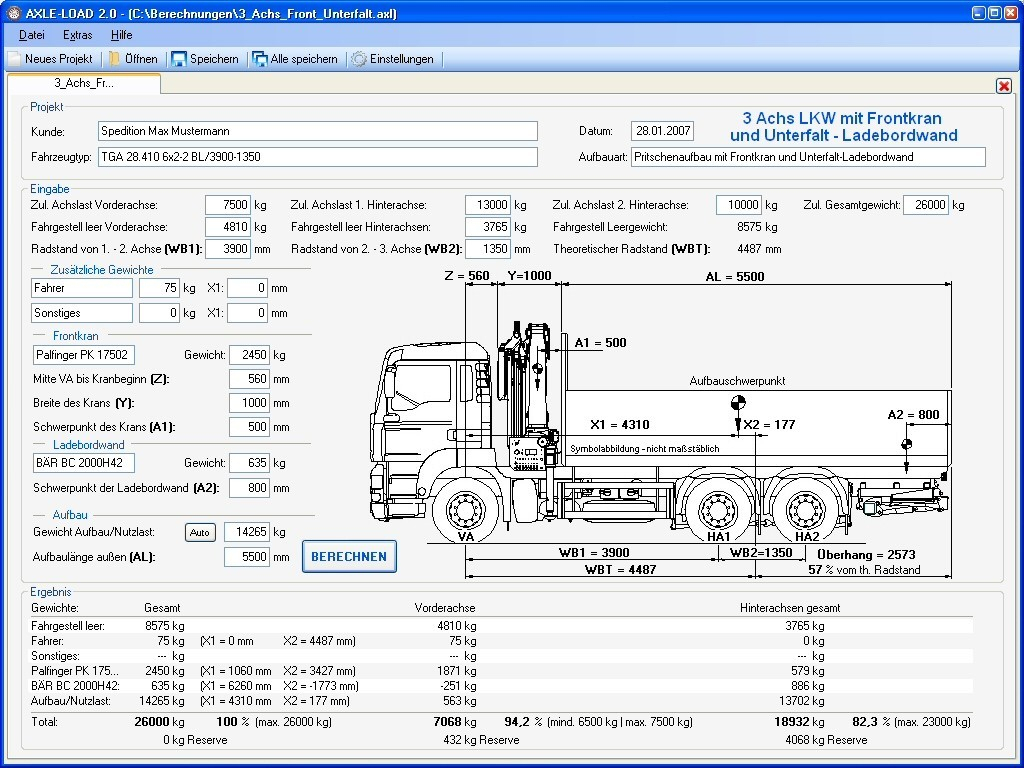 Axle Load Calculation Spreadsheet For Download Electrical Load Calculation Excel Software: Axleload