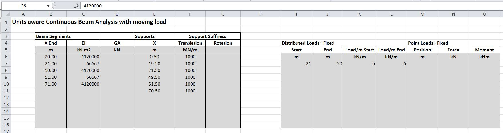 Axle Load Calculation Spreadsheet Throughout Continuous Beam Spreadsheet With Moving Load  Newton Excel Bach Axle Load Calculation Spreadsheet Printable Spreadshee Printable Spreadshee axle load calculation xls