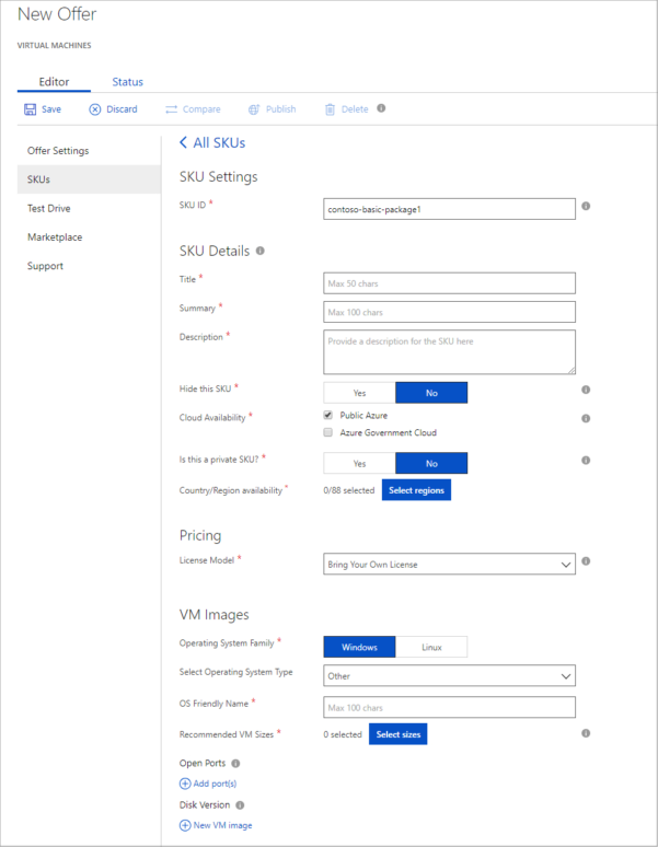 Azure Vm Pricing Spreadsheet Within Virtual Machine Skus Tab In The Cloud Partner Portal For Azure