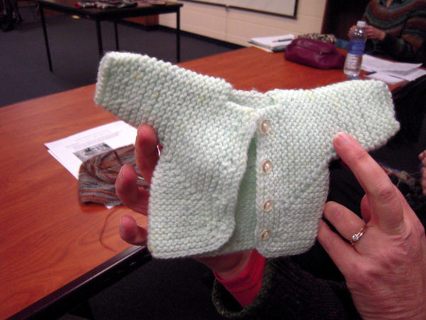 Baby Surprise Jacket Spreadsheet For January 2015 Elizabeth Zimmerman Patterns  Creativeknittersguild