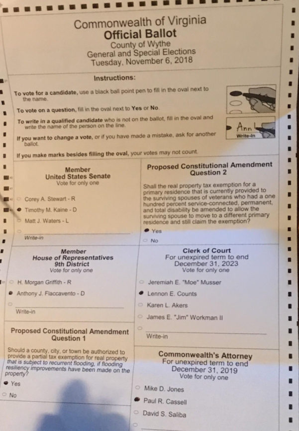 Ballot Counting Spreadsheet In Got My Grandma An Absentee Ballot To Vote! 🌊 : Bluemidterm2018