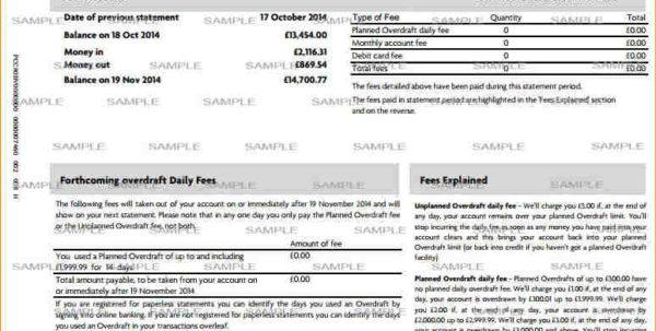 Bank Fee Analysis Spreadsheet With Regard To Bank Statement Analysis Spreadsheet