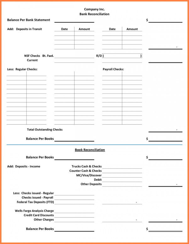 Bank Reconciliation Excel Spreadsheet Within 020 Bank Reconciliation Template Excel Free Download Of ~ Ulyssesroom