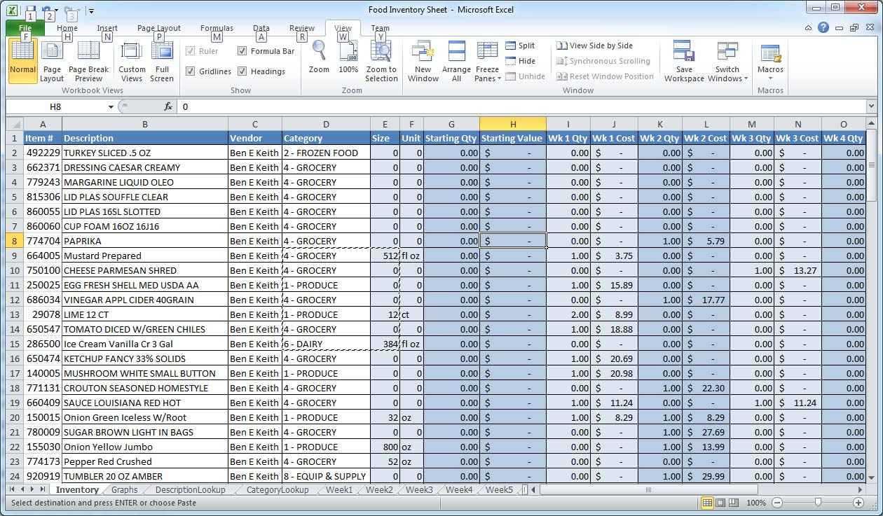 Bar Accounting Spreadsheet Regarding Bar Liquor Inventory Spreadsheet  Sosfuer Spreadsheet For Bar