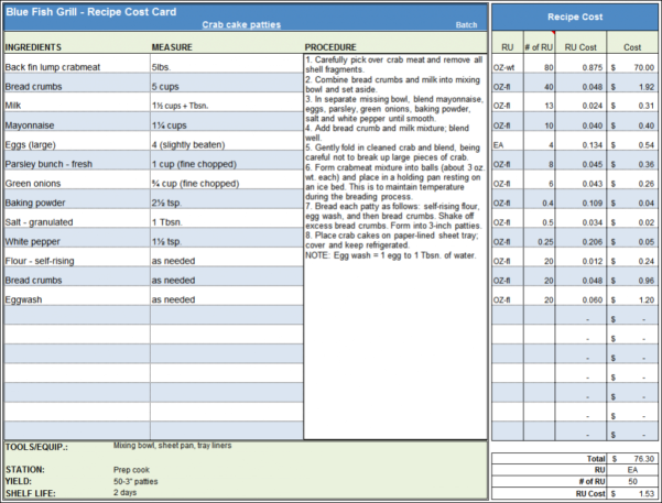 Bar Startup Costs Spreadsheet For Bar Startup Costs Spreadsheet Sheet Menu Recipe Cost  Askoverflow