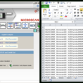 Barcode Scanning To Excel Spreadsheet within Stepstep: Writing Output From A Smart Camera Or Barcode Reader
