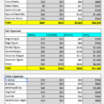 Barefoot Investor Budget Spreadsheet for Rate My Budget : Fiaustralia