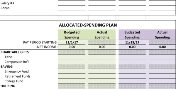 Barefoot Investor Spreadsheet Template For Yearly Budget Spreadsheet  Etsy