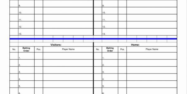Baseball Card Excel Spreadsheet Throughout 001 Template Ideas Softball Lineup Excel Baseball Card Beautiful