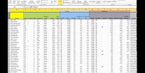 Baseball Stats Spreadsheet In Baseball Stats Spreadsheet Stunning Spreadsheet For Mac Excel