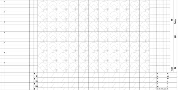 Baseball Team Statistics Spreadsheet Inside Baseball Scorekeeping  Wikipedia