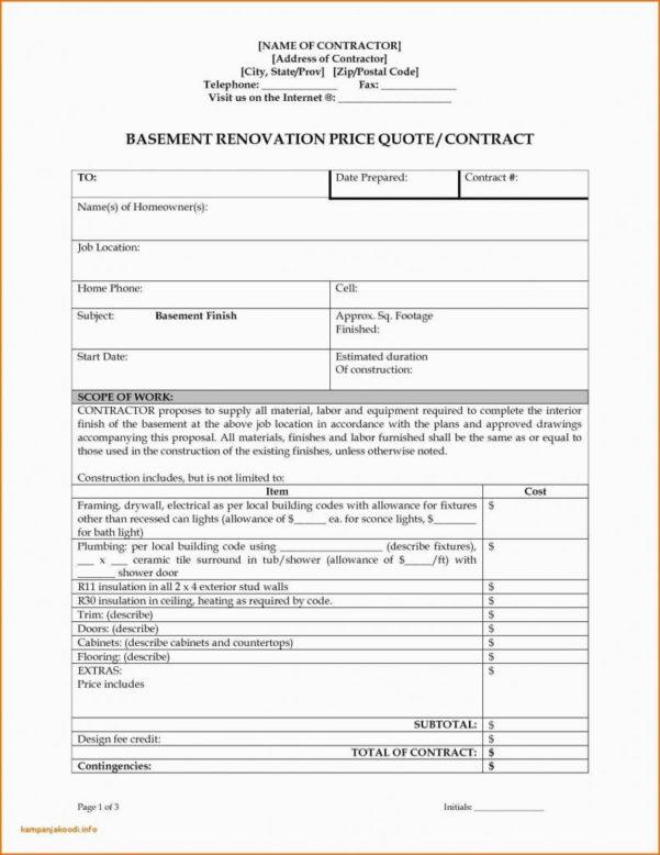 Basement Estimate Spreadsheet Intended For Cost Estimate Spreadsheet Template Building Construction For