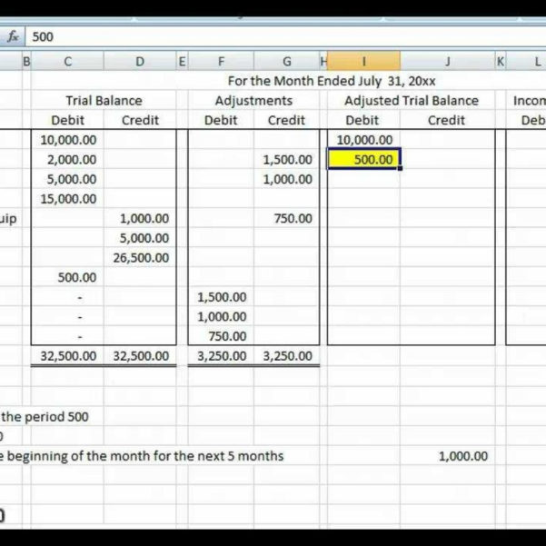 Basic Accounting Spreadsheet With Regard To Basic Accounting Worksheet Accounting Worksheet Accounting In Basic