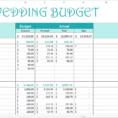 Basic Budget Spreadsheet Template Inside Easy Wedding Budget  Excel Template  Savvy Spreadsheets