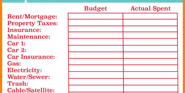 Basic Budget Spreadsheet Template With Regard To Example Of Budget Spreadsheet For Business Monthly Household Simple