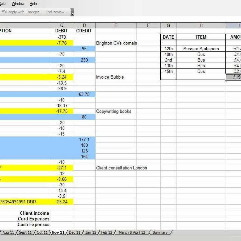 basic business accounting spreadsheet within basic accounting forms small business excel