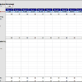 Basic Cash Flow Spreadsheet With Weekly Cash Flow Worksheet