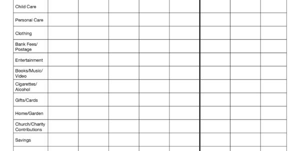 Basic Expenses Spreadsheet In Basic Bookkeeping Spreadsheet And Small Business Spreadsheet For In