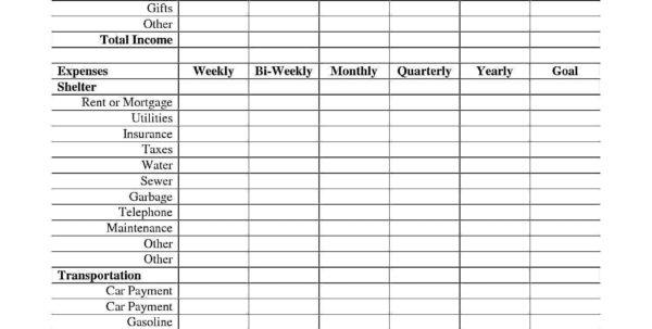 Basic Expenses Spreadsheet Inside Basic Income And Expenses Spreadsheet Sample Worksheets