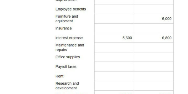 Basic Income Statement Template Excel Spreadsheet In 41 Free Income Statement Templates  Examples  Template Lab