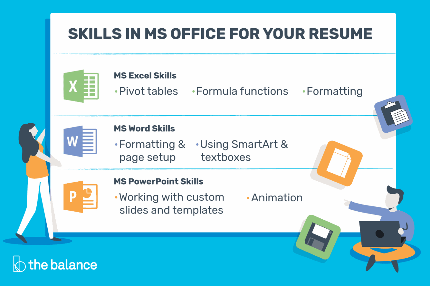 Basic Spreadsheet Proficiency With Microsoft Excel Intended For Microsoft Office Skills For Resumes