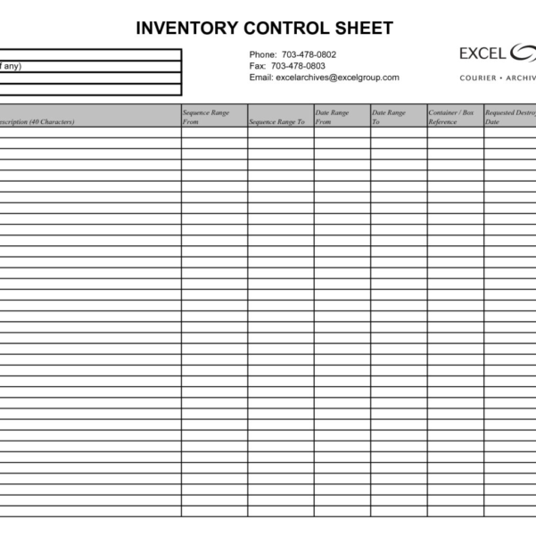 Basic Stock Control Spreadsheet Within Simple Inventory Tracking Spreadsheet Or With Plus Together As Well