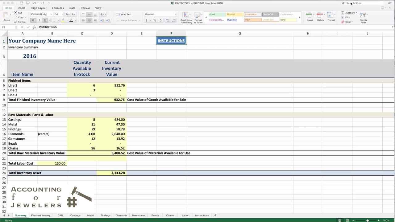 Bead Inventory Spreadsheet Regarding Jewelry Inventory Spreadsheet Free Maker Screen Sample Worksheets