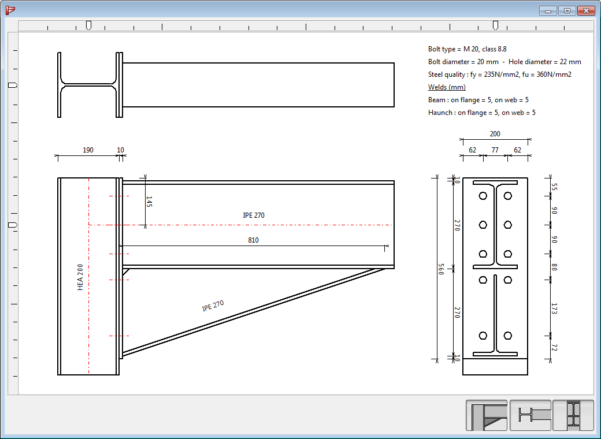 Beam Splice Design Spreadsheet Pertaining To Bolted And Welded Steel Connection Design Software
