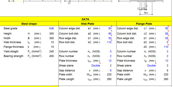 Beam Splice Design Spreadsheet Regarding Calculation Of Beam Column Splice  Civil Engineering Community